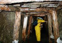 ダム建設現場におけるゆるみ岩盤の挙動監視